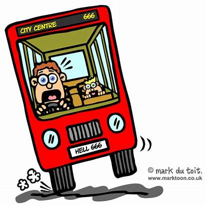 Bus Driver Clipart Accident Funny Cartoon Animated