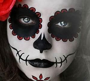 Maquillage Squelette Facile : maquillages enfant maquillage halloween facile ~ Dode.kayakingforconservation.com Idées de Décoration