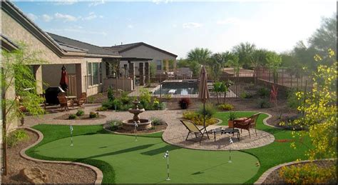 Learn Landscape : Arizona backyard landscaping pictures in az state