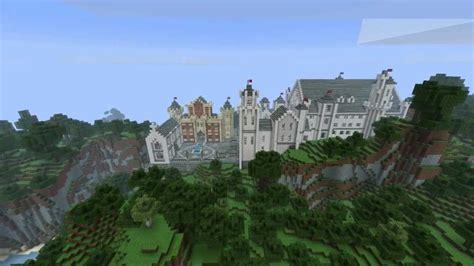 minecraft timelapse alpine castle youtube