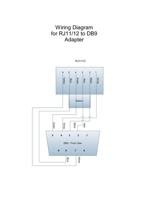 Wiring Diagram For Adapter