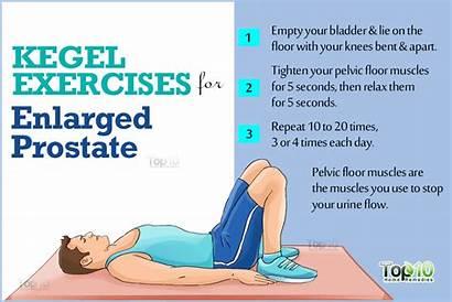 Prostate Enlarged Remedies Kegel Massage Exercise Cancer