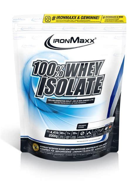 ironmaxx 100 whey isolate 750gr 100 whey isolate 2000g bag
