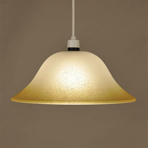 modern frosted glass ceiling pendant light lamp shade