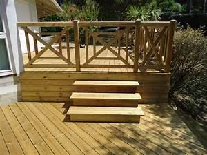 Balustrade En Bois : balustrade pour terrasse pas cher ~ Melissatoandfro.com Idées de Décoration