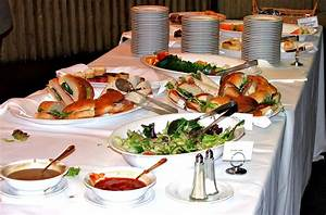 Free Stock Photo 5139 spread luncheon table freeimageslive
