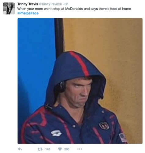 Michael Phelps Meme - michael phelps game face will haunt all your dreams thechive