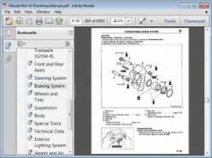 Mazda Mx3 V6 Workshop Repair Manual Download