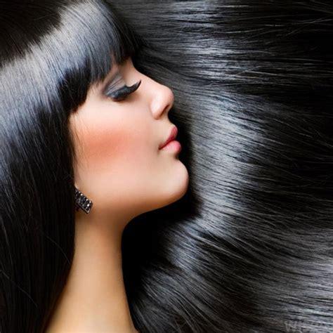 Glossy Black Hair by Now Black Glossy Hair Naturally अब क ल चमकत ब ल