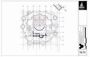 Blueprints Cinderella Castle Magic Kingdom Park Walt