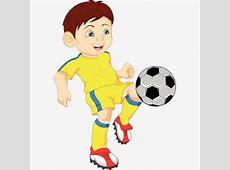 Boy Playing Football, Boy Clipart, Football Clipart