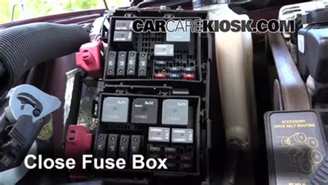 blown fuse check   chevrolet monte carlo