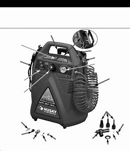 Page 12 Of Husky Air Compressor A05051 User Guide
