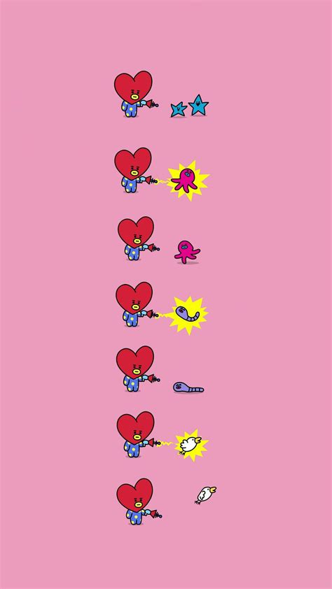 Tata Backgrounds by Bts Bt21 Wallpaper Tata Pls Make Sure To Follow Me