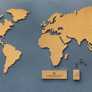 Mappemonde En Liege : carte du monde en li ge corkboard map astuces pinterest carte du monde li ge et le monde ~ Teatrodelosmanantiales.com Idées de Décoration