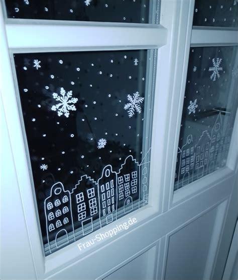 Vorlagen Fensterdeko Weihnachten Kreidestift by Weihnachtliche Fensterbilder Mit Kreidestift