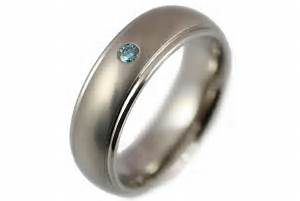 engagement rings mens titanium and blue diamond With mens wedding rings diamond