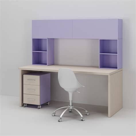 module bureau bureau enfant avec bloc tiroir sur