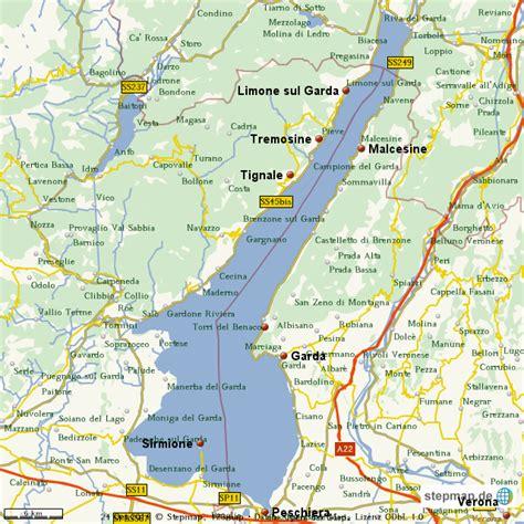 gardasee von marcuwe landkarte fuer die welt