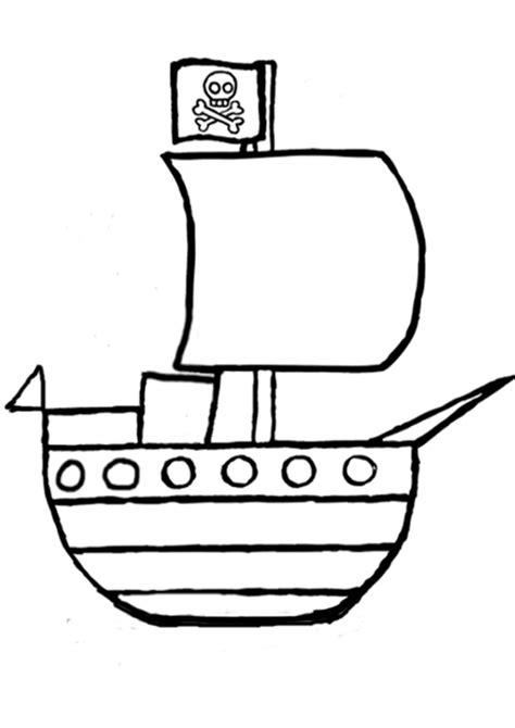 Dessin Bateau Pirate Noir Et Blanc by Bateau De Pirate Coloriages Des Transports