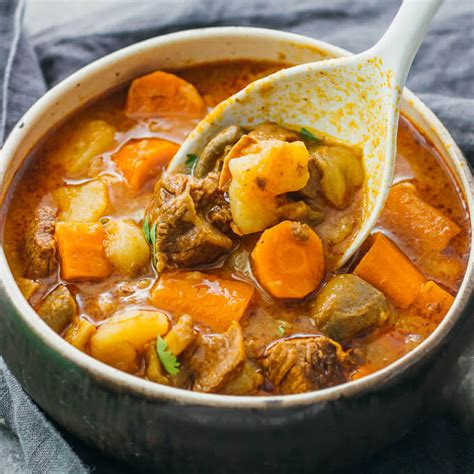instant pot beef stew  potatoes savory tooth