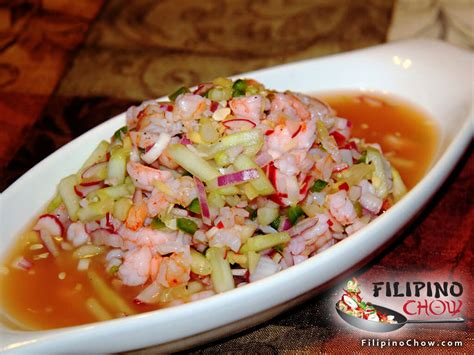 picture  kilawing na hipon spicy shrimp ceviche