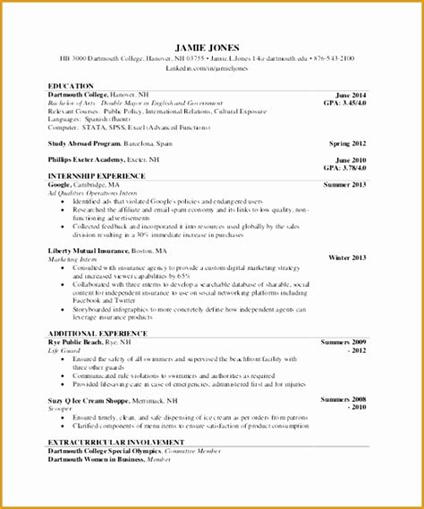 Cv Document Template by 6 Comprehensive Resume Sle Free Sles Exles