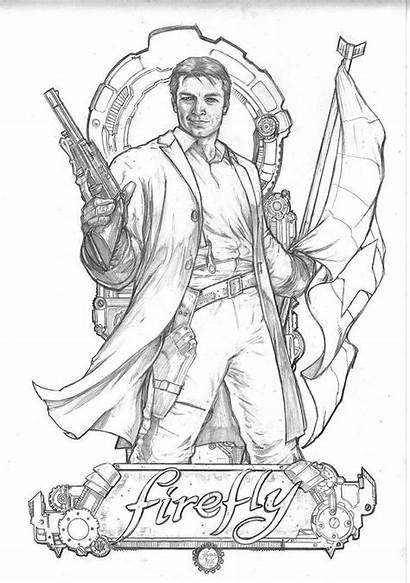 Firefly Coloring Pages Tv Labyrinth Google Adult