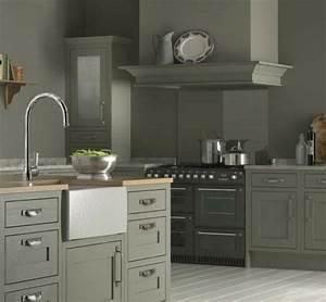 cuisine taupe 51 suggestions charmantes et tres tendance With cuisine peinte en gris