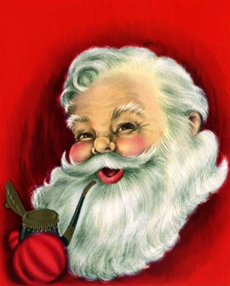 vintage santa claus santa claus is coming to town the doodle place