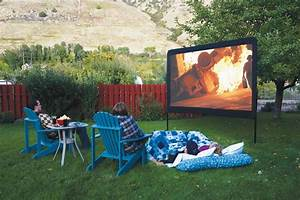 Backyard Movie Theater Screens - Backyard Refuge
