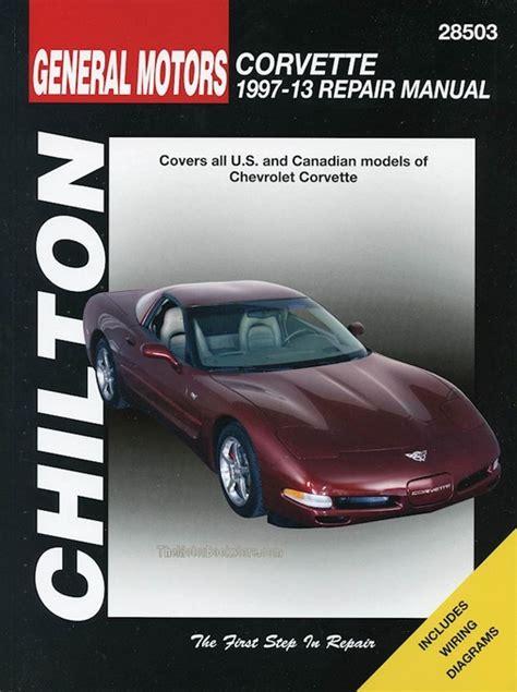 chilton car manuals free download 1984 chevrolet corvette transmission control chevrolet corvette service repair manual 1997 2013 by chilton