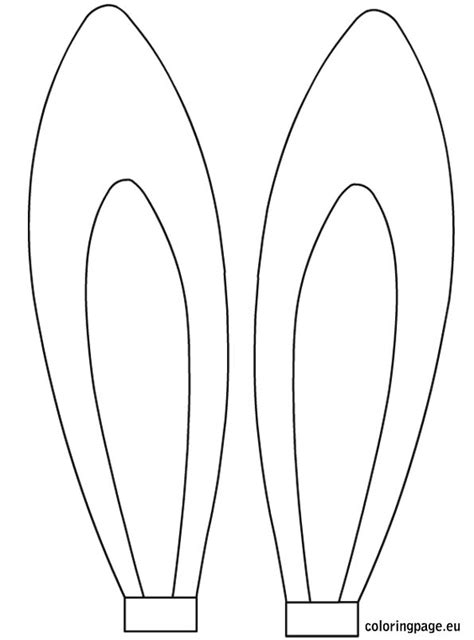 ears coloring pages getcoloringpagescom