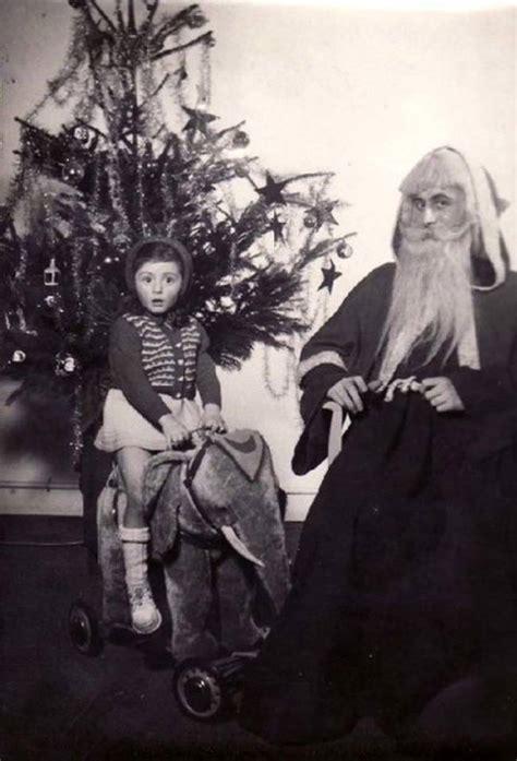 completely creepy vintage santas