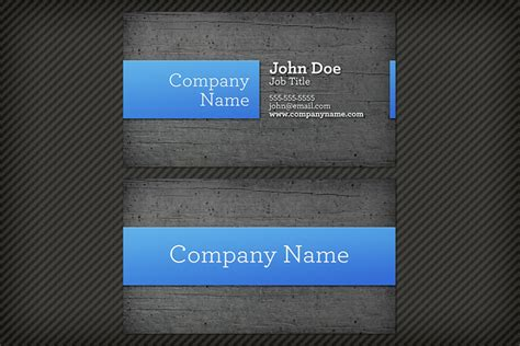 wood background business card template  design panoply