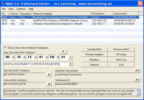 Amac Address Change by Top 10 Best Free Mac Address Changer Tools For Windows