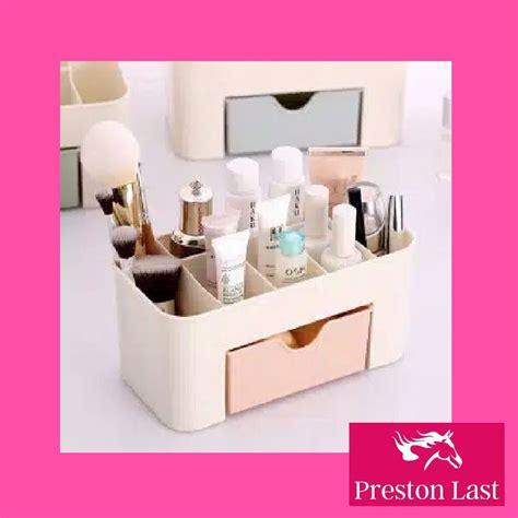 Rak Kosmetik Shopee desktop storage rak meja kosmetik kotak serbaguna