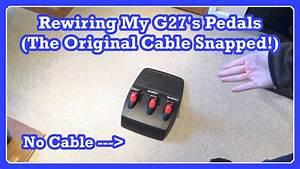 Let U0026 39 S Restore  Rewiring My G27 U0026 39 S Pedals  Fixing My Broken G27