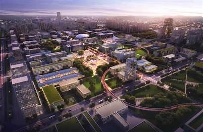 Industrial Park District Competition Masterplan Shengzhou Dk