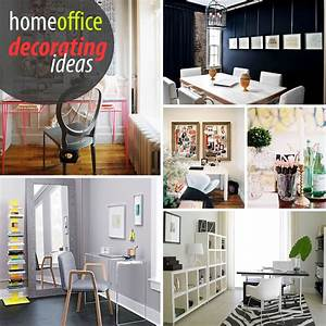 Creative home office decorating ideas for Creative attarctive home office decorating ideas