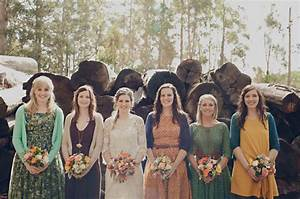 rustic australian wedding in donnelly river rae shane With mountain wedding guest dress