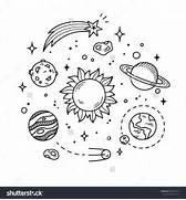 Images For   Solar System Art Black And White  Solar System Black And White Images
