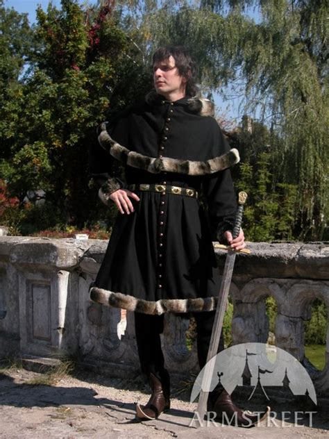 Me L Woolat Tunic Garb Tappert And Hood For