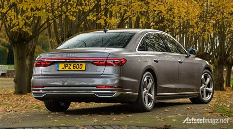 Gambar Mobil Gambar Mobilaudi A8 by Audi A8 2018 Rear Autonetmagz Review Mobil Dan Motor