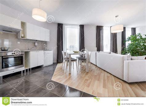 interior design kitchen living room modern interior design living room with kitchen stock 7575