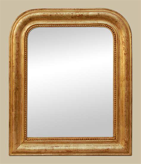 petit miroir ancien dor 233 patin 233 224 la feuille