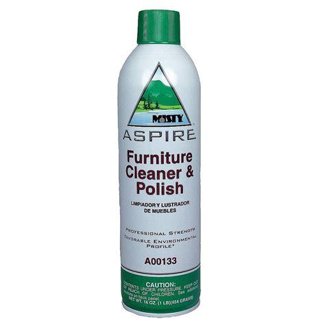 Aspire Furniture Cleaner & Polish  (12) 16 Oz Aerosol