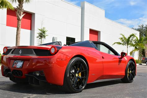 Used 458 Spider by Used 2015 458 Spider For Sale 224 900 Marino