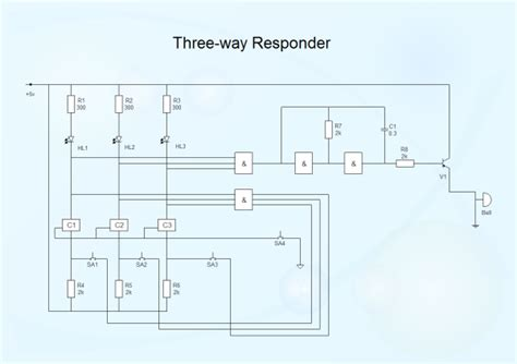 Basic Electrical Diagram by Schematic Diagram Software