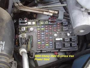 Chevrolet Express Fuse Box Location